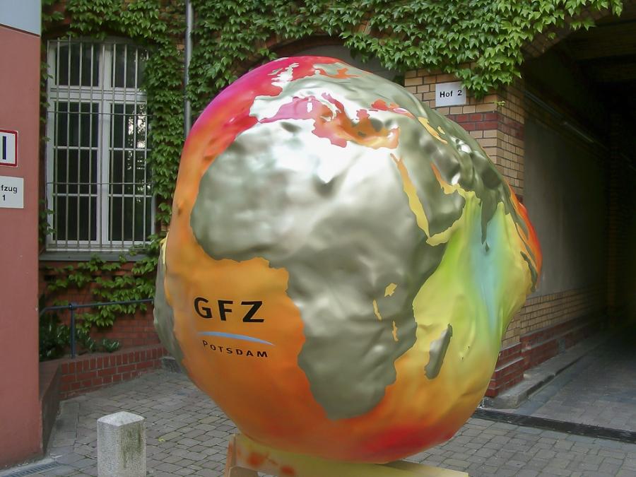 Gravitationskartoffel des GFZ Potsdam